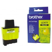 Brother LC-47Y Yellow Genuine Original Printer Ink Cartridge